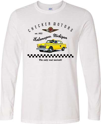 Checker Motors Full Color Long Sleeved Tee