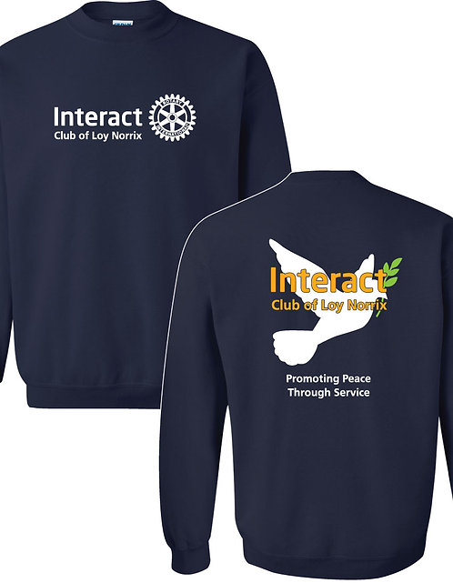 LNHS Interact Crewneck Sweatshirt