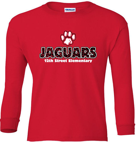 Youth Paw Long-Sleeved Tee