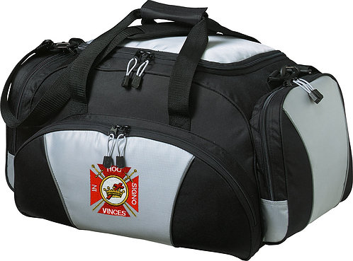 Embroidered Metro Duffel Bag
