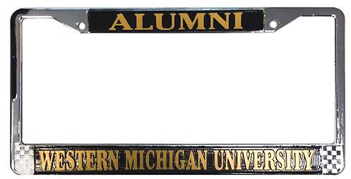 Chrome Alumni License Plate Frame