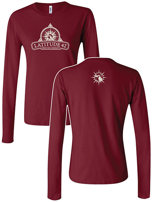 Ladies' Long Sleeved L42 Logo Tee