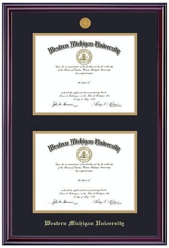 Double Diploma Frame - Elite