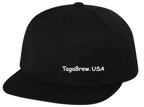 TagaBrew Flat Bill Hat