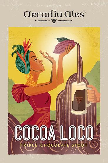 Cocoa Loco Poster