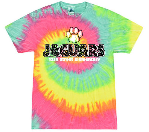 Youth Paw Pigment-Dyed Tee