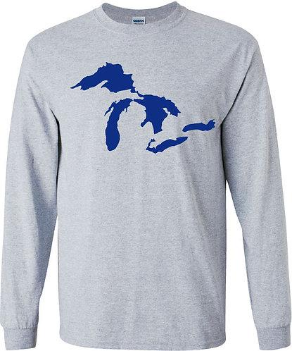 Long Sleeved Great Lakes Tee