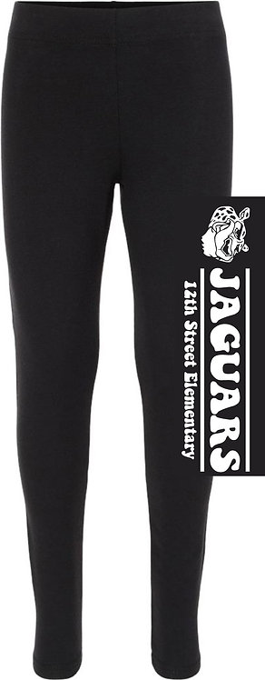 Youth Girls' Jaguar Leggings