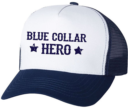 Blue Collar Hero Hat
