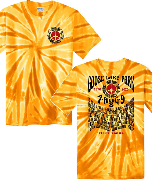 Goose Lake Festival Anniversary Tie-Dyes