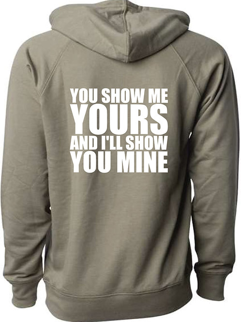 TagaBrew Show Me Lightweight Loopback Terry Hoodie