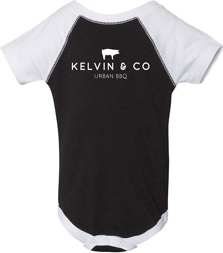 Kelvin & Co Infant Baseball Bodysuit
