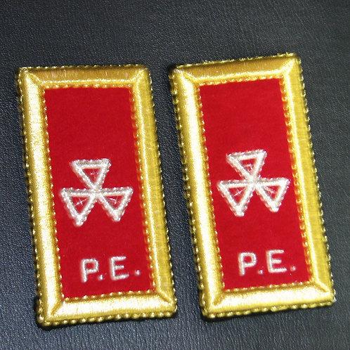 Past Prelate Shoulder Straps