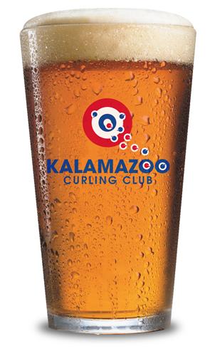 KZCC Logo Pint Glass