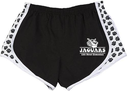 Youth Girls' Jaguar Athletic Shorts