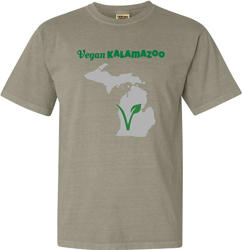 Vegan Kalamazoo Short Sleeved Tee