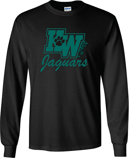 King-Westwood Jaguars Long-Sleeved Tee