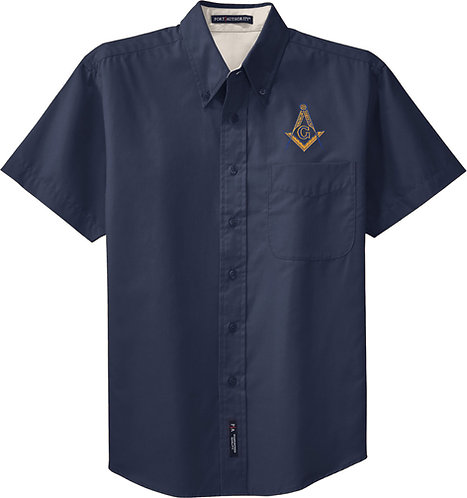 Short Sleeved Easy Care Shirt - Tall Sizes
