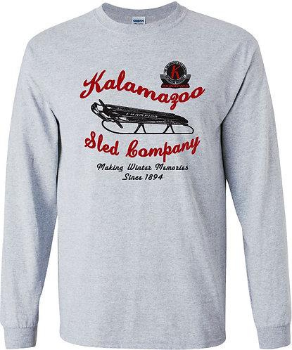 Kalamazoo Sled Long Sleeved Tee