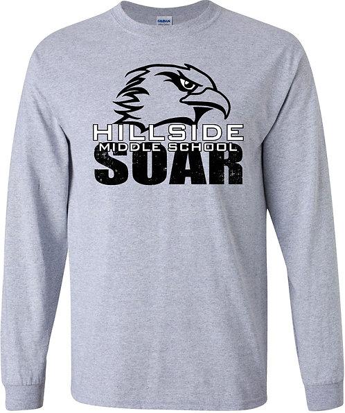 Long-sleeve T-shirt - Hillside Middle School