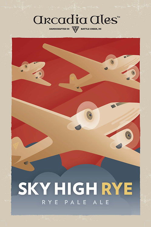 Sky High Rye Poster