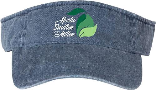 Hosta Smitten Embroidered Visor