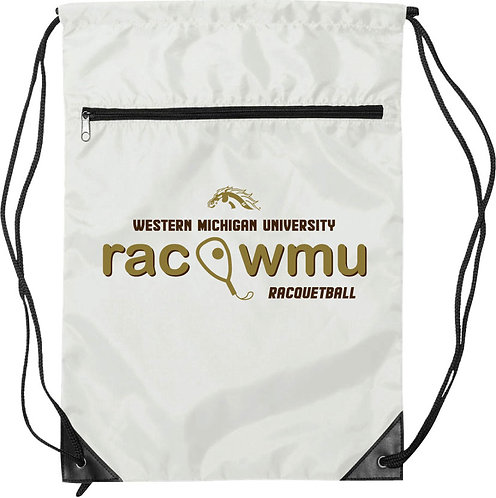 Racquetball Drawstring Backpack