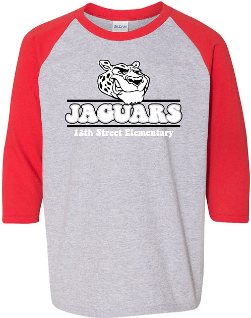 Youth Jaguar Raglan Tee