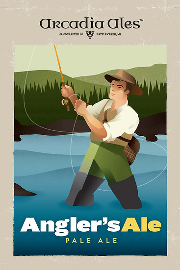 Angler's Ale Poster