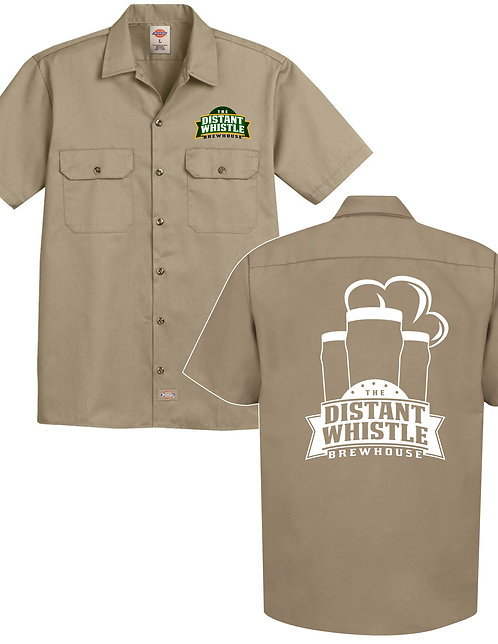 DW Embroidered Dickies Work Shirt