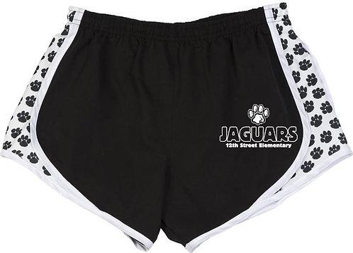 Youth Girls' Paw Athletic Shorts
