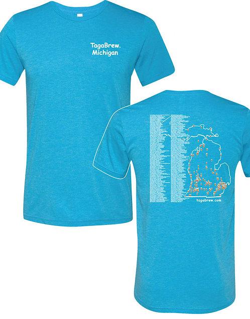 TagaBrew Michigan Trail Tee