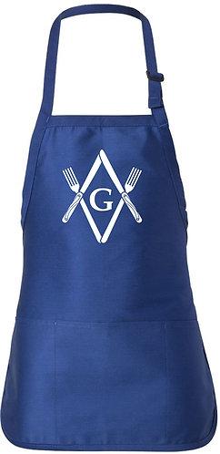 Masonic Knives & Forks Apron