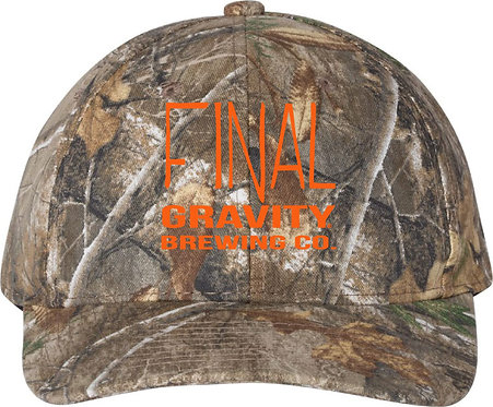 Outdoor Camo Hat