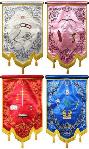 IOOF Degree Banner Sets