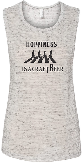 Hoppiness Ladies Muscle Tank