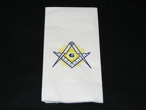 Masonic Emblem Paper Napkins
