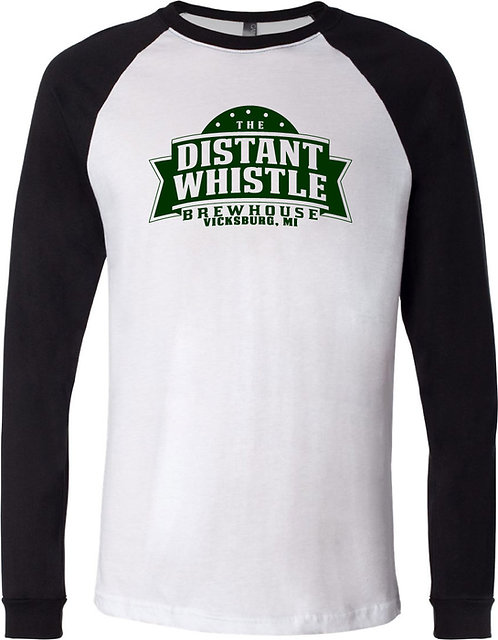 DW Unisex Three-Quarter Sleeve Raglan Tee
