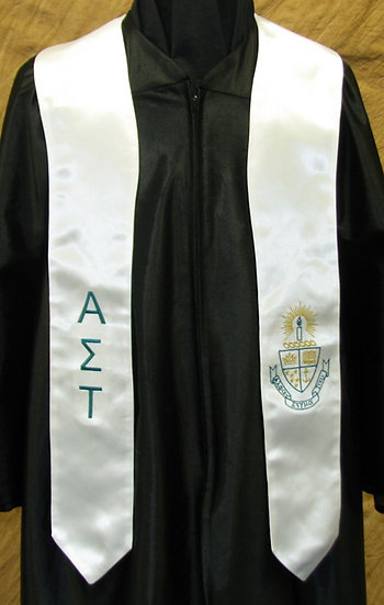 ALPHA SIGMA TAU COAT OF ARMS STOLE