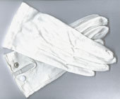 Cotton Gloves With Snaps