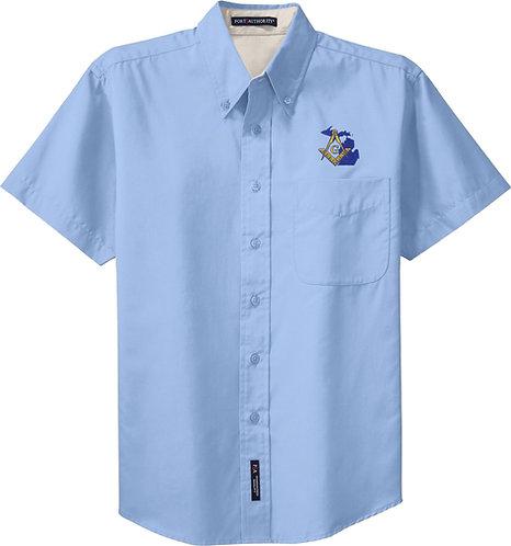 Short Sleeved Easy Care Shirt
