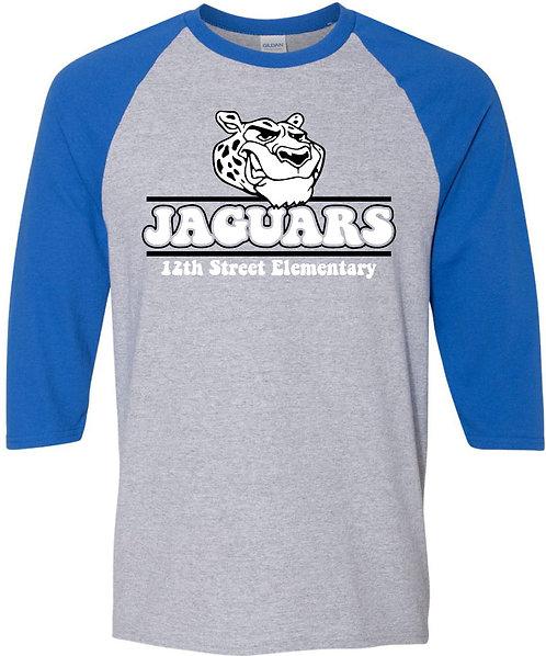 Adult Jaguar Raglan Tee