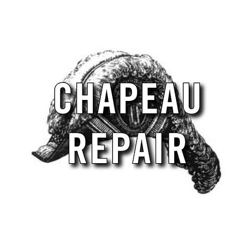 New Embroidered Chapeau Slashings