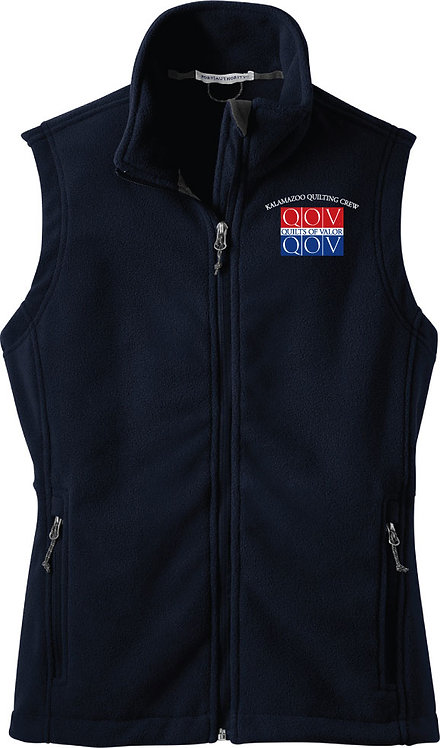 Kzoo Quilting Crew Ladies' Fleece Vest