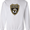 Thumbnail: Wm Club Soccer Crewneck Shield Sweatshirts