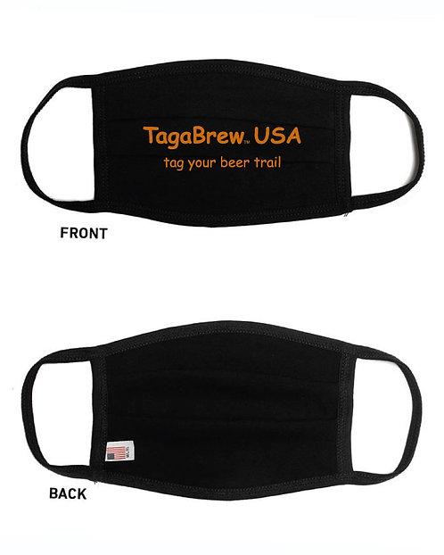 TagaBrew USA Face Masks