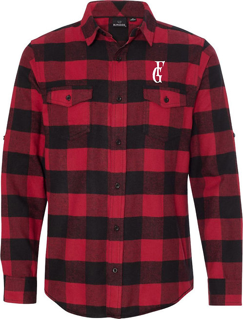 Yarn-Dyed FG Flannel Shirt