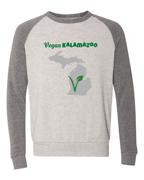 Vegan Kalamazoo Eco-Fleece Crew
