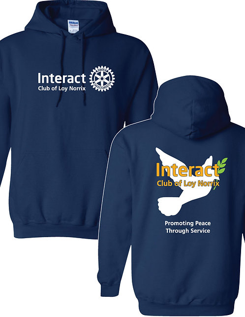 LNHS Interact Hooded Sweatshirt