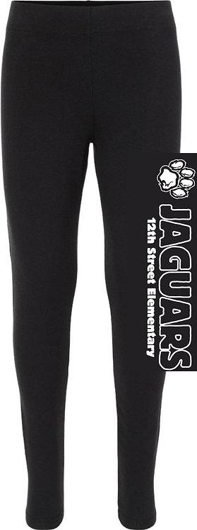 Youth Girls' Paw Leggings